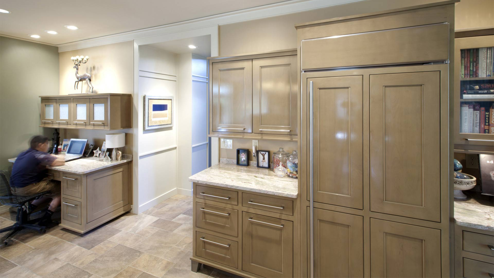 Kitchen Cabinetry Details- Kitchen and Family Room Addition - Indianapolis, IN
