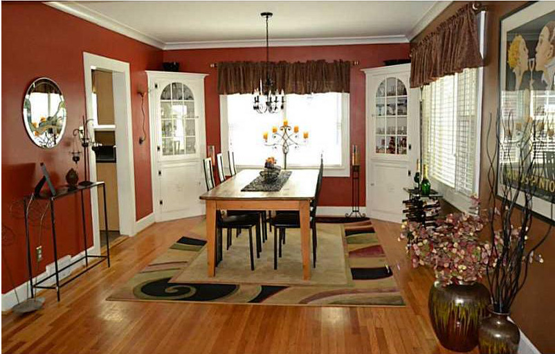 (Before Photo) Previous Dining Room View on Entry to home - Broad Ripple Bungalow Phase 1 - Indianapolis, IN