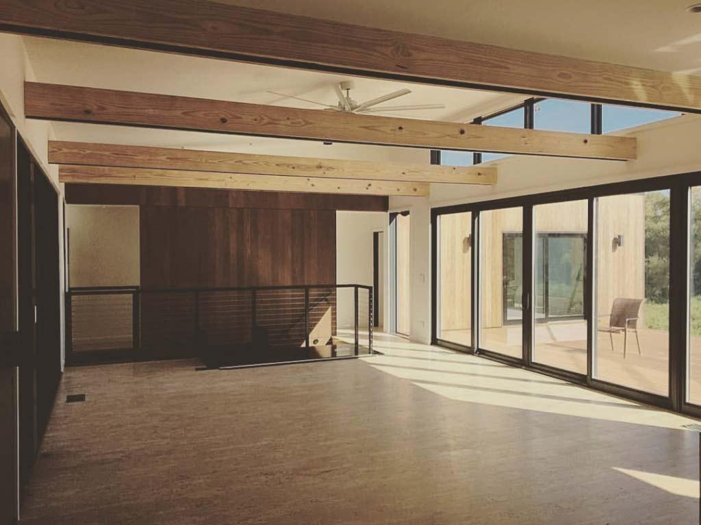 New Modern House 1 (Copperwood) - Living Room Progress