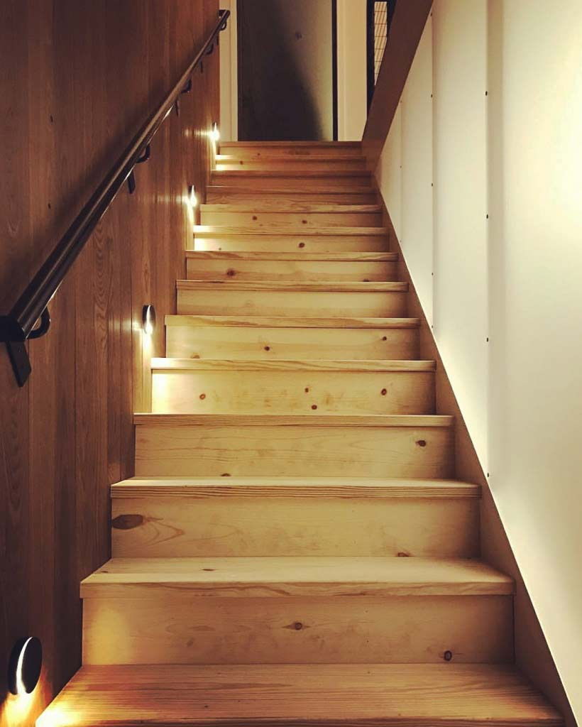 New Modern House 1 (Copperwood) - Architectural Stair