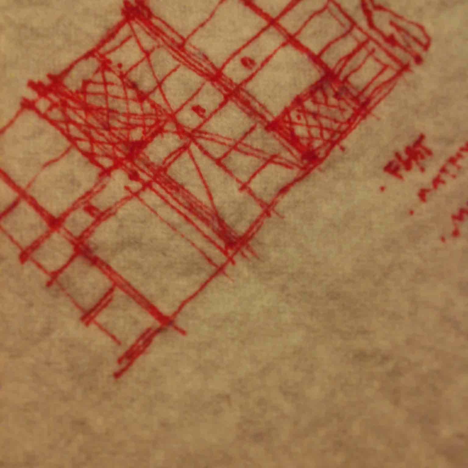 Parti Sketch on Swiffer (Master Closet) - Classic Irvington Tudor Remodel - Indianapolis, IN