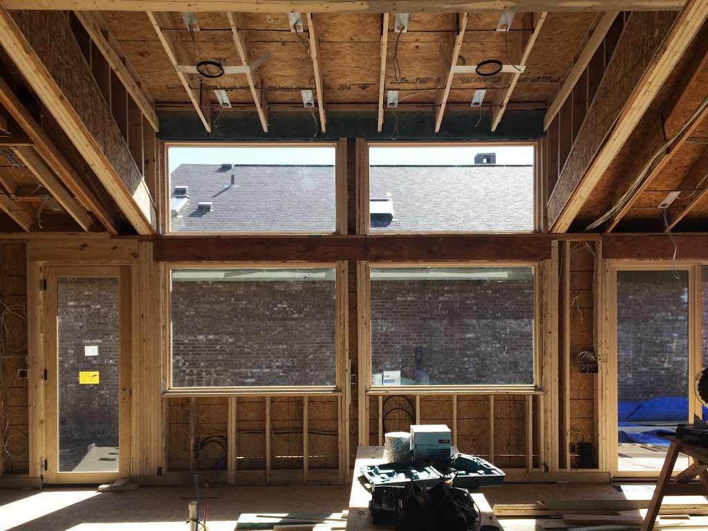 Modern Lakehouse Clearwater - Kitchen Window Detail