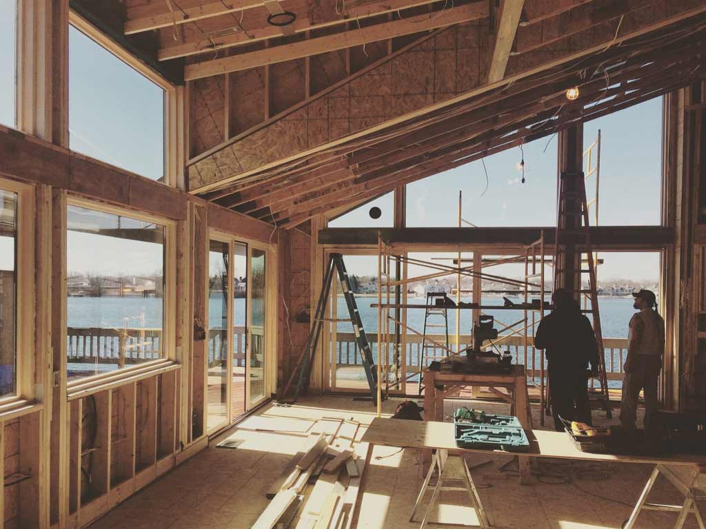 Modern Lakehouse - Clearwater - Indianapolis, IN - New Window Installations
