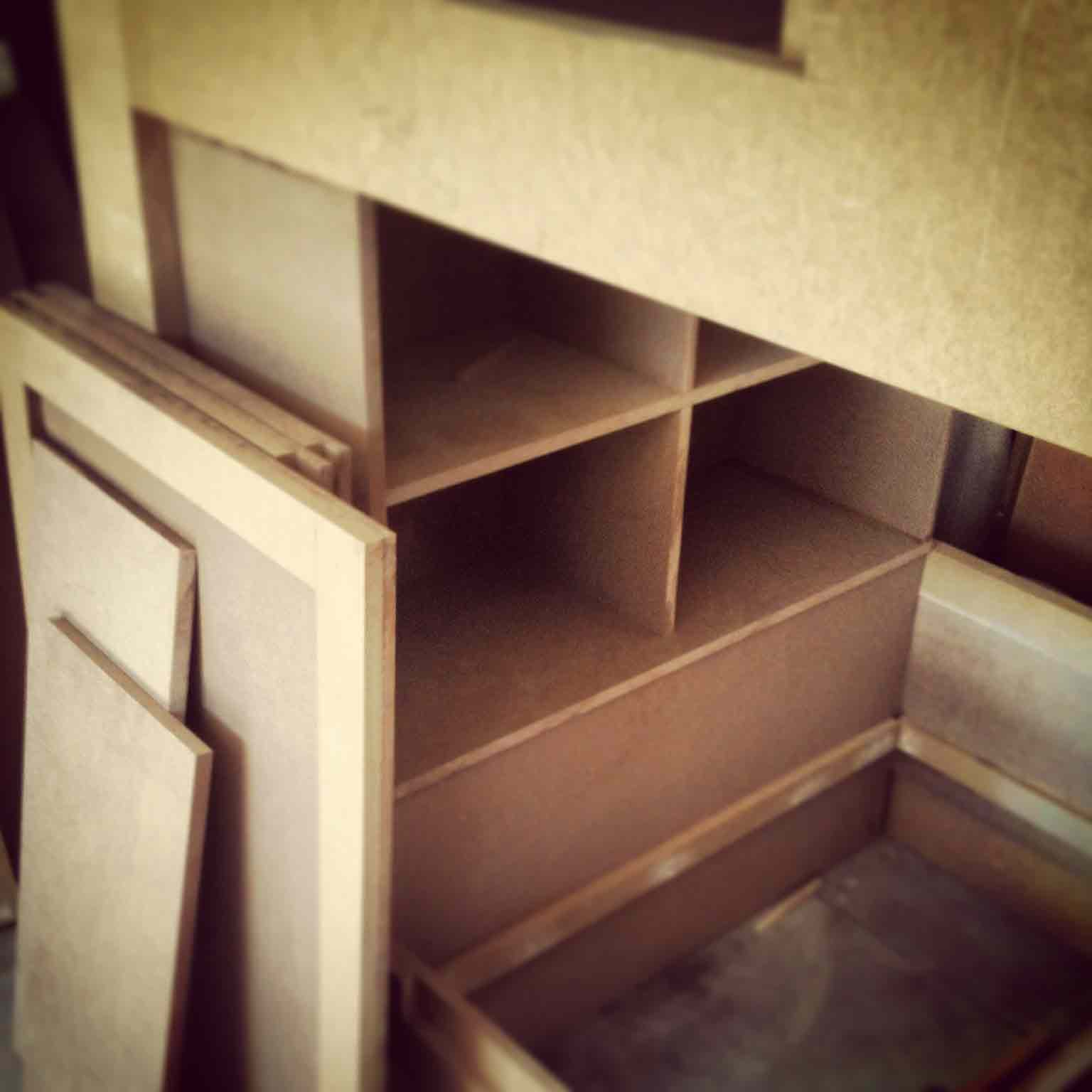 Building New Bunk Beds for Kids - Classic Irvington Tudor Remodel - Indianapolis, IN