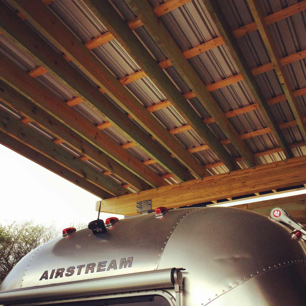 New Modern House 1 (Copperwood) - Airstream Shelter