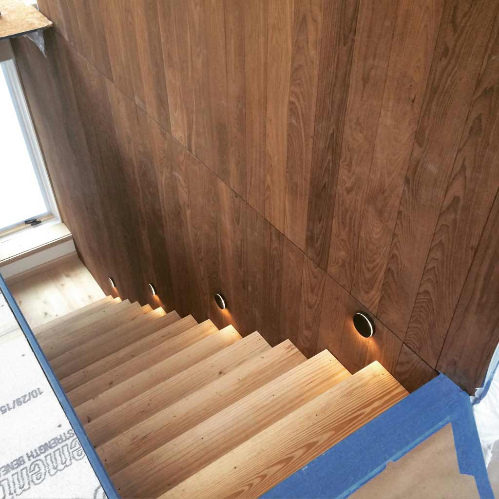 New Modern House 1 (Copperwood) - Stair Detail