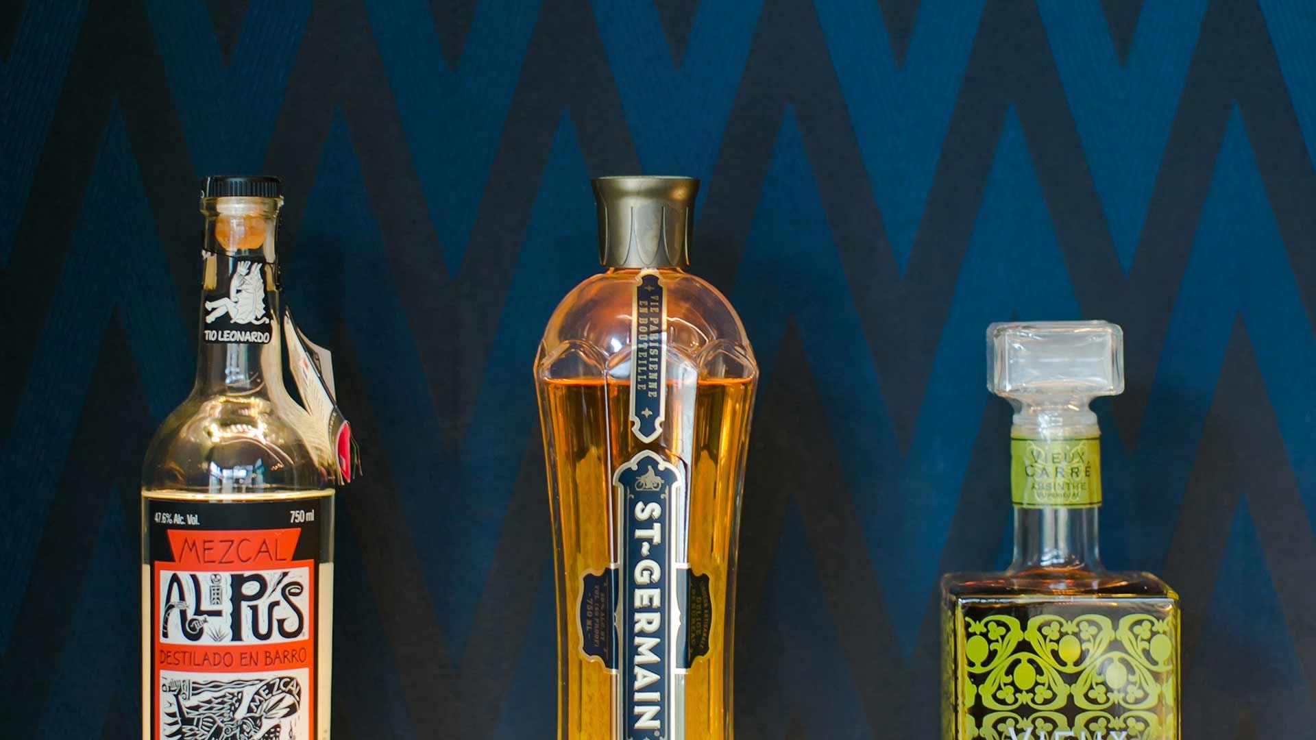Bottle Elevation Detail - Midcentury Modern Addition (Cigar Room) - Brendonwood, Indianapolis