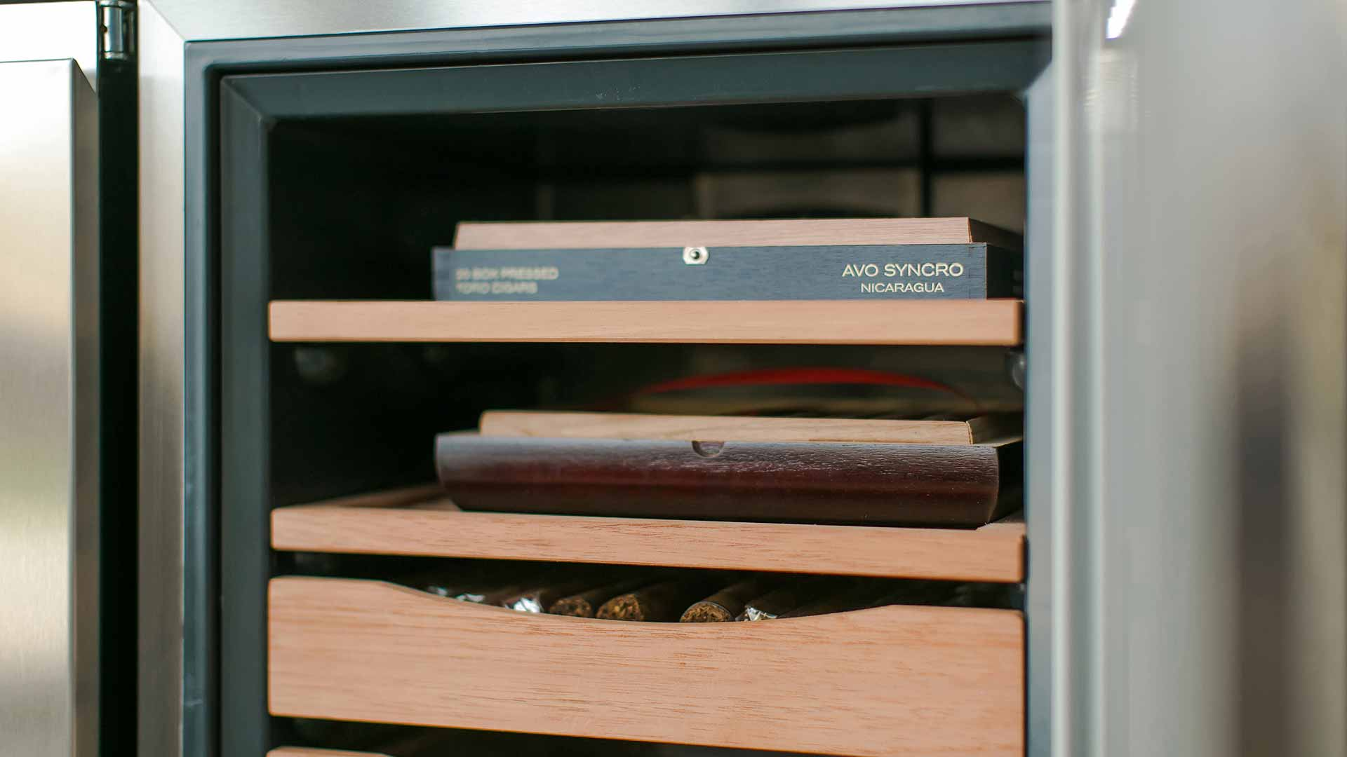 Cigar Room Addition - Humidor - Midcentury Modern Addition - Brendonwood, Indianapolis