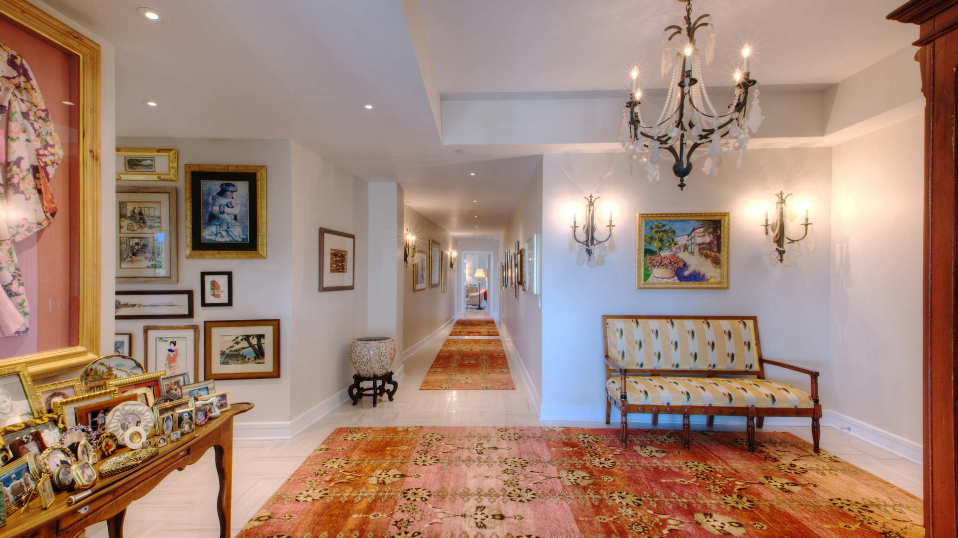 Entry Hall - Eclectic Modern Interior - Indianapolis, IN