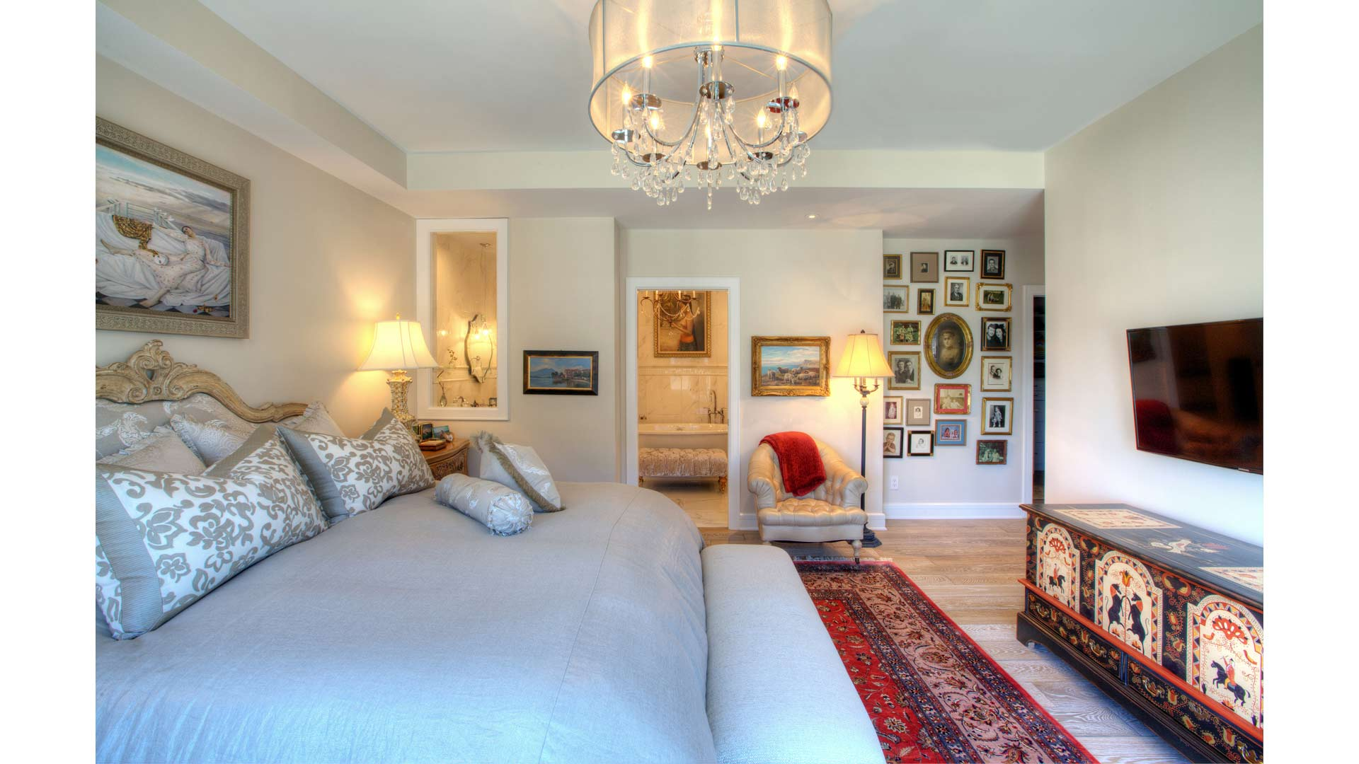 Master Bedroom Suite - Eclectic Modern Interior - Indianapolis, IN