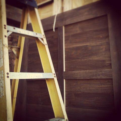 Front Porch Progress - Butler Tarkington Modern Tudor - Indianapolis
