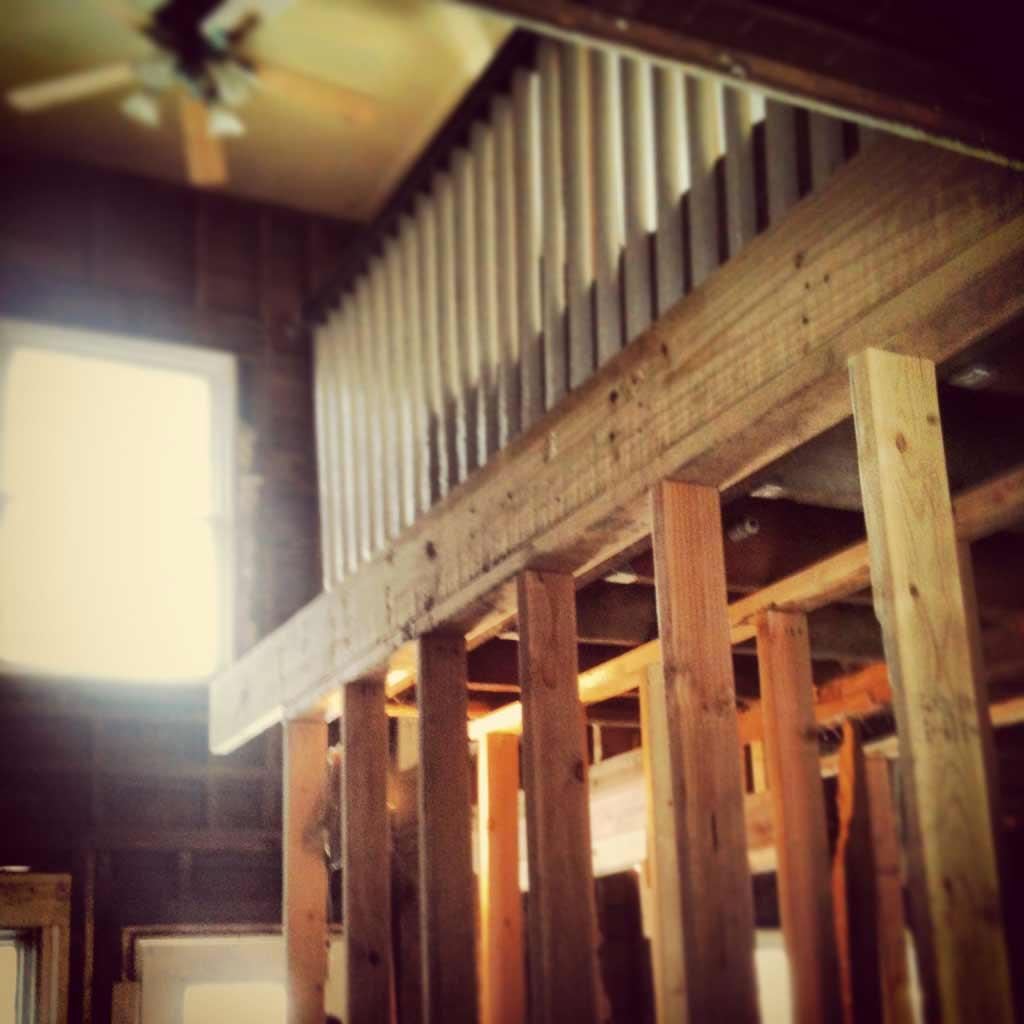 Phase Two Interior Demolition - Butler Tarkington Modern Tudor - Indianapolis